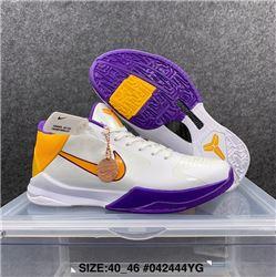 Men Nike Kobe 5 Basketball Shoes AAAA 624