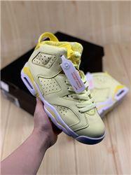 Women Air Jordan VI GS Floral Sneakers AAAAAA 324