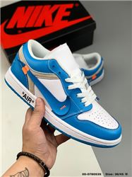 Men Off White x Air Jordan 1 Basketball Shoes AAA 537