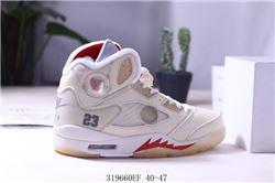 Men Air Jordan V Retro Basketball Shoes AAA 403