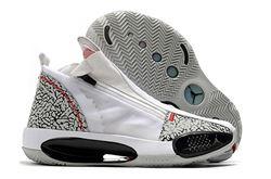 Men Air Jordan XXXIV Basketball Shoes 254