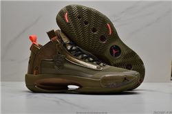 Men Air Jordan XXXIV Basketball Shoes AAA 260