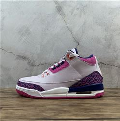 Women Air Jordan III Retro Sneakers AAAAA 238