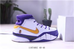 Men Nike Kobe 1 Protro Mamba Day Basketball Shoes AAA 638