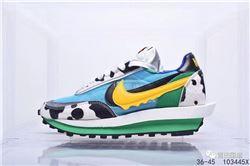 Women Sacai x Nike LDWaffle Nike Sneakers AAA...