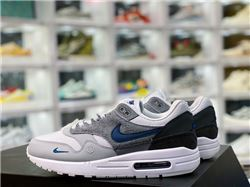 Men Nike Air Max 1 Anniversary Running Shoes AAAA 411