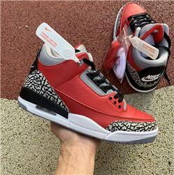 Men Air Jordan 3 SE Red Cement