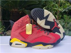 Men Air Jordan VI Basketball Shoes AAA 444
