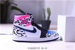Women Air Jordan 1 Retro Sneaker AAA 677