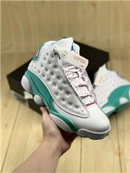 Women Air Jordan XIII Aurora Green Sneakers AAAAA 288