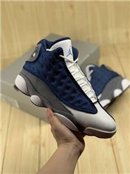 Men Air Jordan 13 Flint Basketball Shoes AAAAA 400