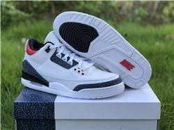 Men Air Jordan 3 SE DNM Fire Red