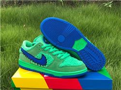 Men Grateful Dead x Nike SB Dunk Low Green Bear CJ5378 300