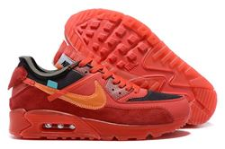 Men Off White x Nike Air Max 90 Running Shoes AAA 543