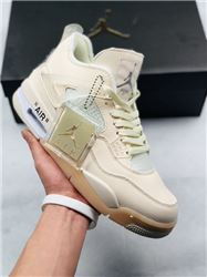 Women Sneaker Air Jordan 4 Retro AAAA 319