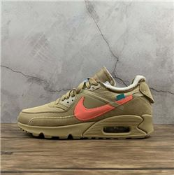 Women Off White x Nike Air Max 90 Sneaker AAAAA 436