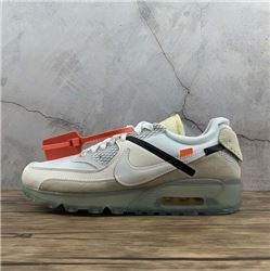 Women Off White x Nike Air Max 90 Sneaker AAAAA 437