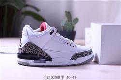 Men Air Jordan III Retro Basketball Shoes AAAA 396