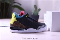 Men Air Jordan III Retro Basketball Shoes AAAA 398