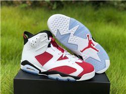 Men Air Jordan 6 Carmine