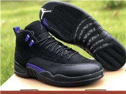 Men Air Jordan 12 Dark Concord