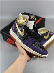 Men Air Jordan I Retro Basketball Shoes AAAAAA 1017