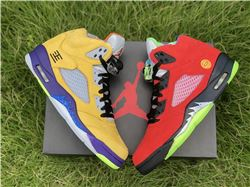 Men Air Jordan 5 What The