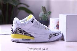 Women Air Jordan III Retro Sneakers AAAA 244