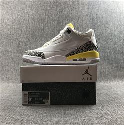 Women Air Jordan III Retro Sneakers AAAAA 247