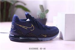 Men Nike LeBron 17 Basketball Shoes 963