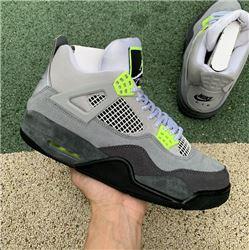 Men Air Jordan 4 SE Neon