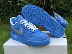 Men Off White x Nike Air Force 1 Mca Low