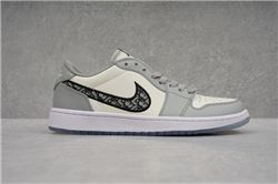 Men Air Jordan I Retro Low Basketball Shoes 1023