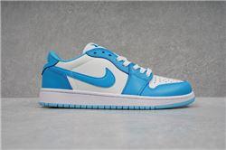 Women Air Jordan 1 Retro Low Sneaker 734