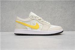 Men Air Jordan I Retro Low Basketball Shoes 1038