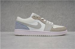 Men Air Jordan I Retro Low Basketball Shoes 1041