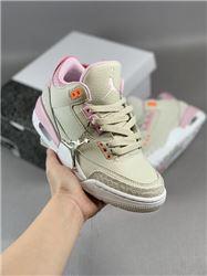 Women Air Jordan III Retro Sneakers AAAA 254