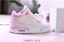 Women Air Jordan III Retro Sneakers AAA 255