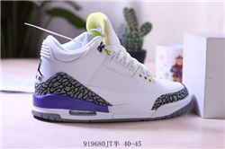 Men Air Jordan III Basketball Shoes AAA 426
