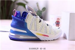 Men Nike LeBron 18 Basketball Shoes 987