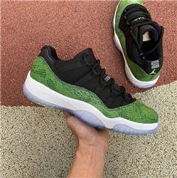 Men Air Jordan 11 Green