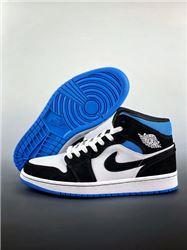 Men Air Jordan I Retro Mid Basketball Shoes AAAA 1046