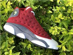 Men Air Jordan 13 Red Flint