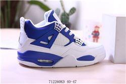 Men Air Jordan IV Retro Basketball Shoes 594
