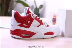 Men Air Jordan IV Retro Basketball Shoes 595