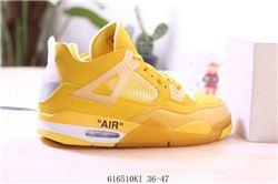 Men Air Jordan IV Retro Basketball Shoes AAA 598