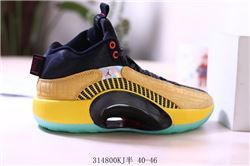 Men Air Jordan 35 Basketball Shoes 216