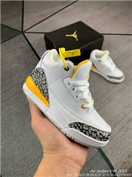 Kids Air Jordan III Sneakers 239