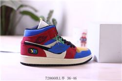 Women Air Jordan 1 Retro Sneakers AAAA 766