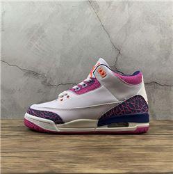 Women Air Jordan III Retro Sneakers AAAA 259